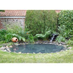 Ubbink 1471508 - Bassin cascade nova scottia + 20 m² liner + feutre + amphore