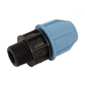 "Plumbob Adaptateur mâle MDPE - 20 mm x 3/4"""
