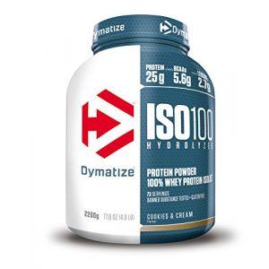 Dymatize nutrition Dymatize Iso100 Hydrolyzed 100% Whey Protein Isolate 2200g Cookies & Cream