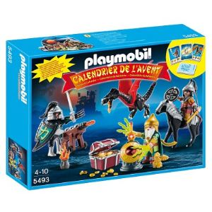 Playmobil 5493 Christmas - Calendrier de l'avent : Trésor royal du dragon asiatique