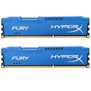 Kingston HX318C10FK2/16 - Barrettes mémoire HyperX Fury 2 x 8 Go DDR3 1866 MHz CL10 DIMM 240 broches