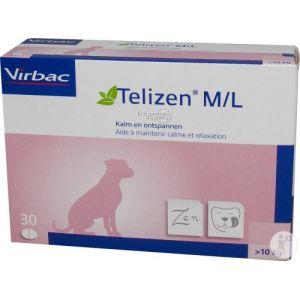 Virbac Telizen M/L 100 mg pour chien 30 comprimés