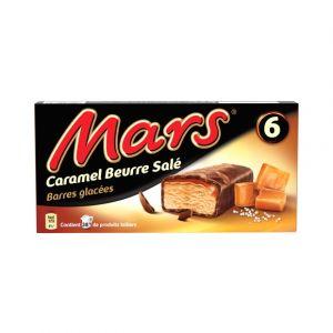 Mars Barres glacées au caramel et beurre salé