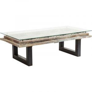 Table Basse Verre Bois Comparer 557 Offres