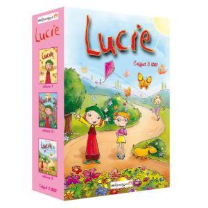 Coffret Lucie - Attendre le Père Noël + Lucie attrape les papillons + Se faire un déguisement
