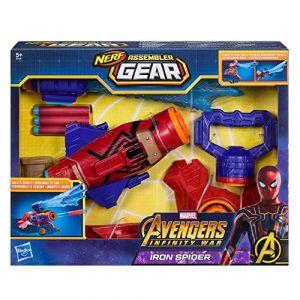 Hasbro Nerf Assembler Gear Avengers Infinity War lance toile Spider-Man