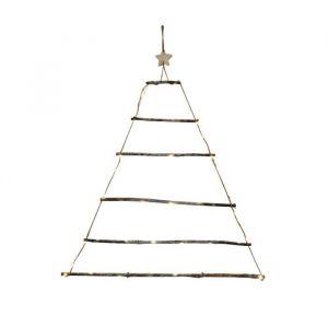 Autour de Minuit Sapin en bois lumineux - H 90 cm