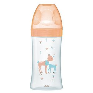 Dodie Biberon Sensation en verre col large 270 ml