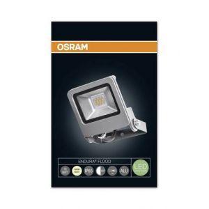 Osram Projecteur Extérieur LED ENDURA FLOOD - Etanche IP65 - 10W - 700 lumen - Orientable 180° - Blanc chaud 3000K - Gris Anthracite