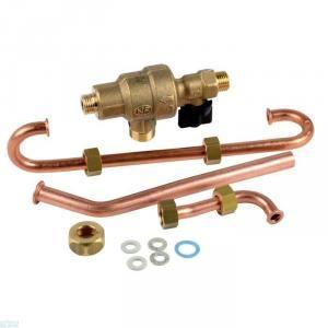 ELM Leblanc 87167614140 - Disconnecteur avec robinet et tubes
