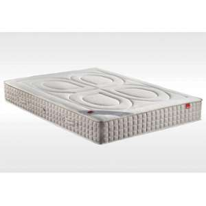 Epeda Matelas BAMBOU 140x200 Ressorts ensaches