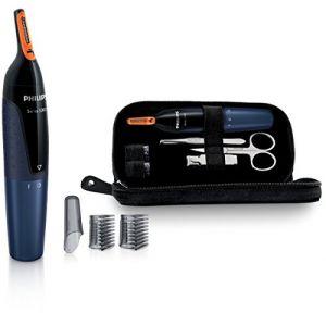 Philips NT5180/15 - Tondeuse nez, oreilles Séries 5000 Dual Cut et set manucure à piles