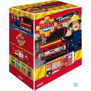 Image de Sam Le Pompier, Mon Coffret 4 DVD - Édition Limitée