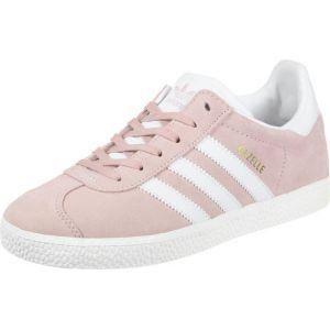 Adidas Gazelle J, Chaussures de Fitness Mixte Enfant, Rose (Roshel/Ftwbla/Dormet 000), 37 1/3 EU