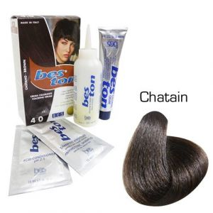 Bes ton Crema colorante castano - brown 4.0