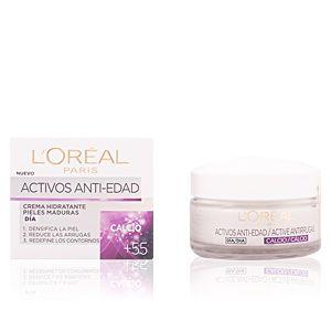 L'Oréal Calcium actif jour crème hydratante anti-âge - peaux matures de +55 - 50 ml