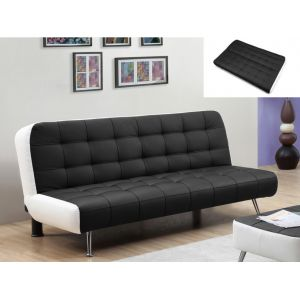 Canapé clic clac MURNI Noir