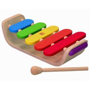 Plan Toys Xylophone ovale en bois