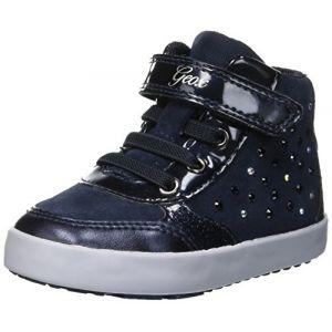 Geox B Kilwi B, Sneakers Basses Bébé Fille, Bleu (Navy C4002), 23 EU