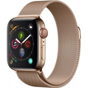 Apple Montre connectée Watch 44MM Acier Or/Mil Or Series 4 Cell