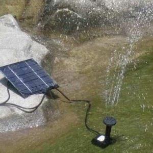 Linxor Pompe à eau solaire pour bassin de jardin
