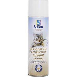 Boldair Destructeur d'odeurs animales - Aérosol 500 ml