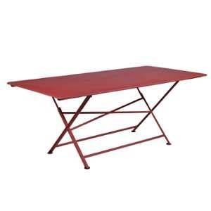Fermob Table pliante Cargo Piment 190 x 90 cm