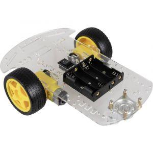 Joy-it Châssis roulant pour robot Modèle (kit/module): kit à monter 1 pc(s)