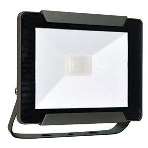 Tibelec Projecteur Extérieur LED Premium extraplat 30W 2280 Lumens noir