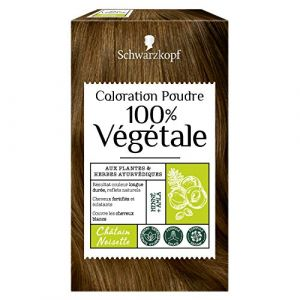 Schwarzkopf Coloration Poudre 100% Végétale - Châtain Noisette