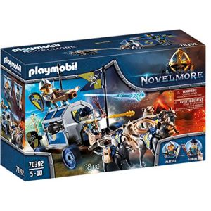Playmobil Char du trésor des chevaliers Novelmore Novelmore 70392