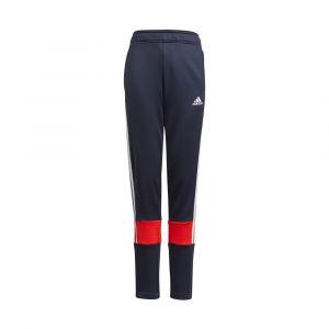 Adidas AeroReady 3-Stripes Pantalon Survêtement Garçons - Bleu Foncé, Rouge