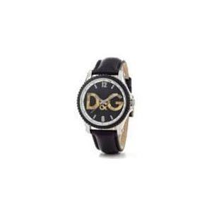 Dolce & Gabbana DW0707 - Montre pour homme avec bracelet en cuir