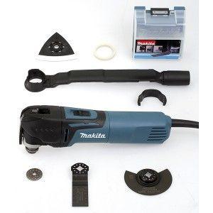 Makita TM3010CX6 - Découpeur ponceur multifonctions filaire 320W avec kit d'accessoires