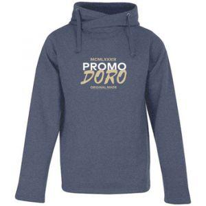 """Promodoro Sweat-shirt Print """" original made"""" Sweat à Capuche Chiné Hommes bleu - Taille EU XXL,EU S,EU M,EU L,EU XL"""
