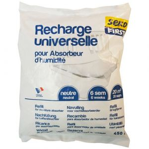 Seko Recharge absorbeur - 450 g - Anti-humidité, Anti-moisissure