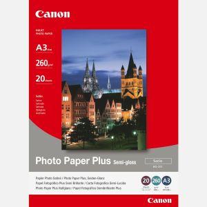 Canon 20 feuilles de papier photo Paper Plus 260g/m² (A3)