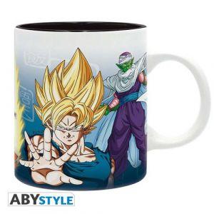 Abysse Corp Mug - Dragon Ball - Saiyans et Piccolo - 320 ml