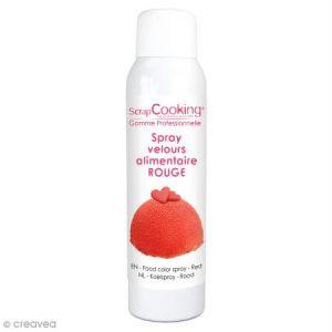 Scrapcooking Spray Velours Rouge 150 ml