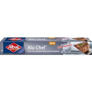 Albal Aluminium ménager renforcé Chef (20 m)