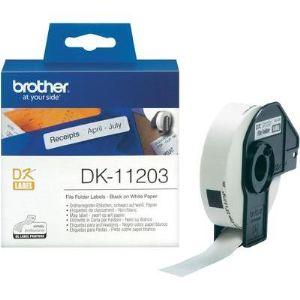 Brother 300 étiquettes pour imprimante 17 x 87 mm