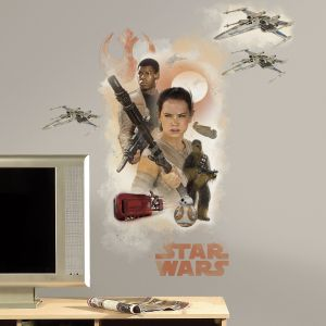 Room Studio 4 stickers muraux repositionnables Star Wars 7