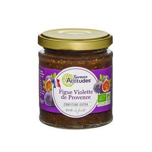 Saveurs attitudes Confiture de figue violette de Provence 220g