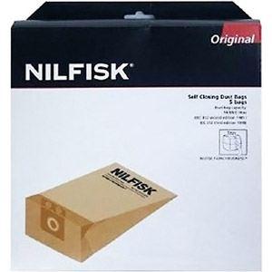 Nilfisk 82222900 - 5 sacs d'origine en papier pour aspirateurs