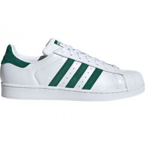 Adidas Superstar, Chaussures de Gymnastique Homme, Blanc Collegiate Green/FTWR White, 38 EU