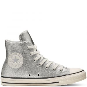 Converse All Star - Hi chaussures Femmes argent T. 36,5
