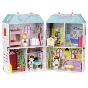 Vilac Maison de poupée en valise