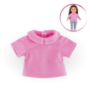 Corolle Vêtement pour poupée Ma Corolle Polo rose