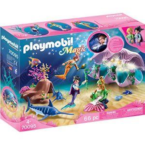 Playmobil 70095 - Coquillage lumineux avec sirènes
