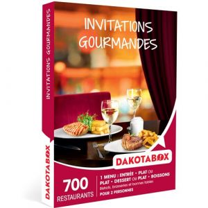 Dakotabox Coffret cadeau - Invitations gourmandes
